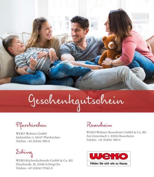 WEKO-Einkaufsgutschein